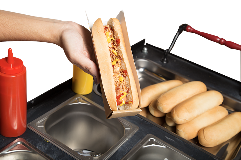 close-up-hot-dog---Food-Belt-Factory